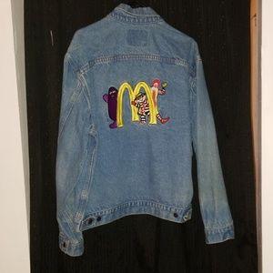 Vintage McDonald's Jean Jacket